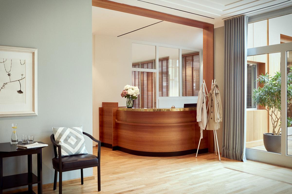 Rezeption in der Tertianum Premium Residenz Berlin