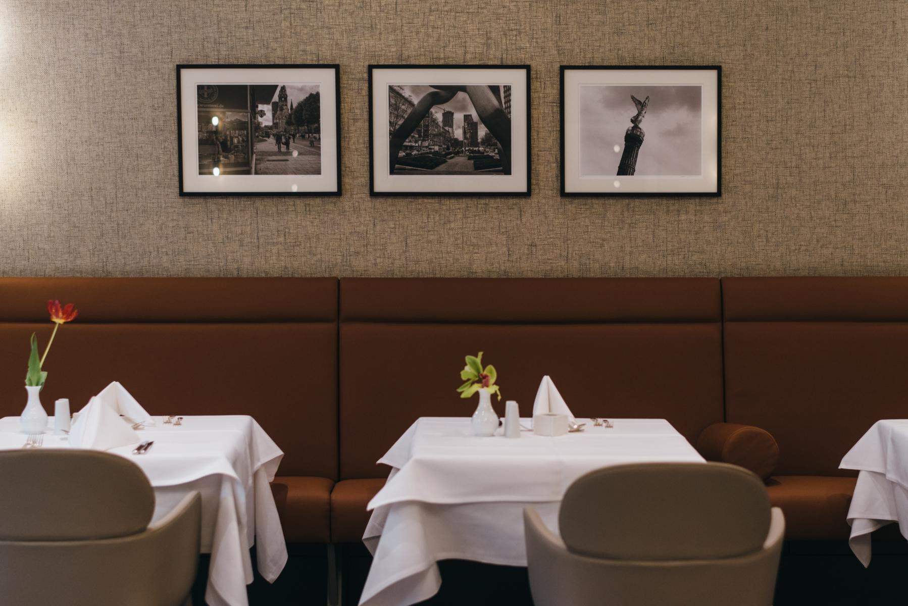 Gedeckter Tisch im Restaurant der Tertianum Residenz