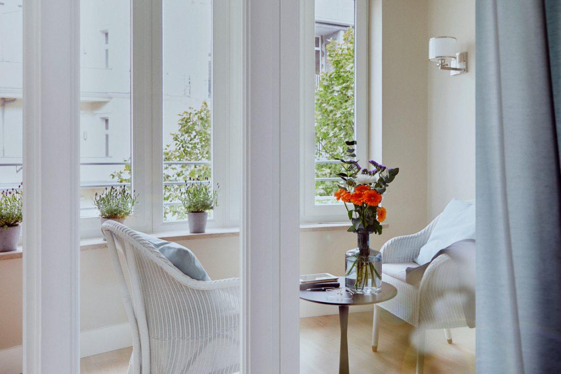 Helle Wohnung in der Tertianum Premium Seniorenresidenz Berlin
