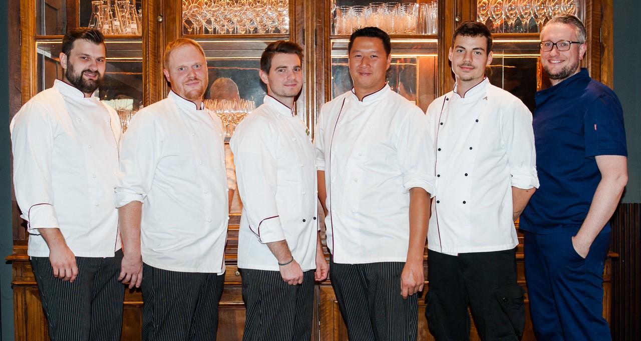 Gruppenbild des Gastronmie Teams der Tertianum Residenzen