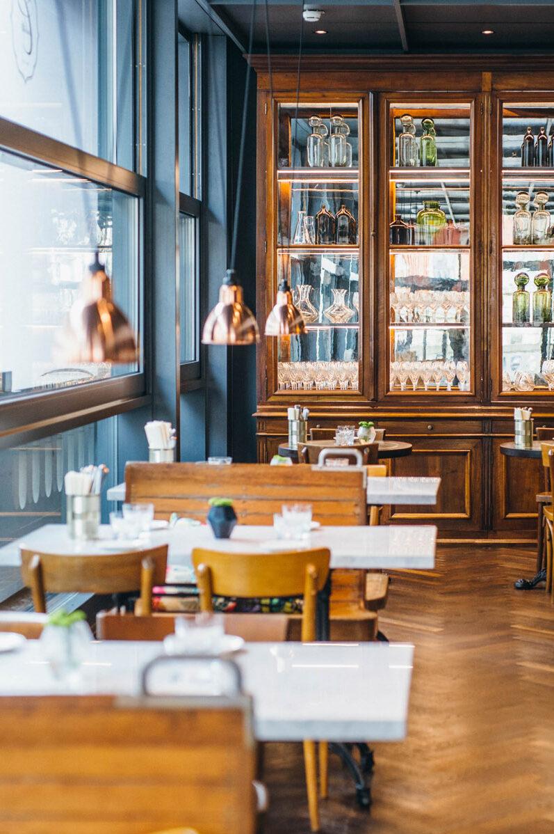 Das Restaurant Brasserie Colette in Konstanz von innen