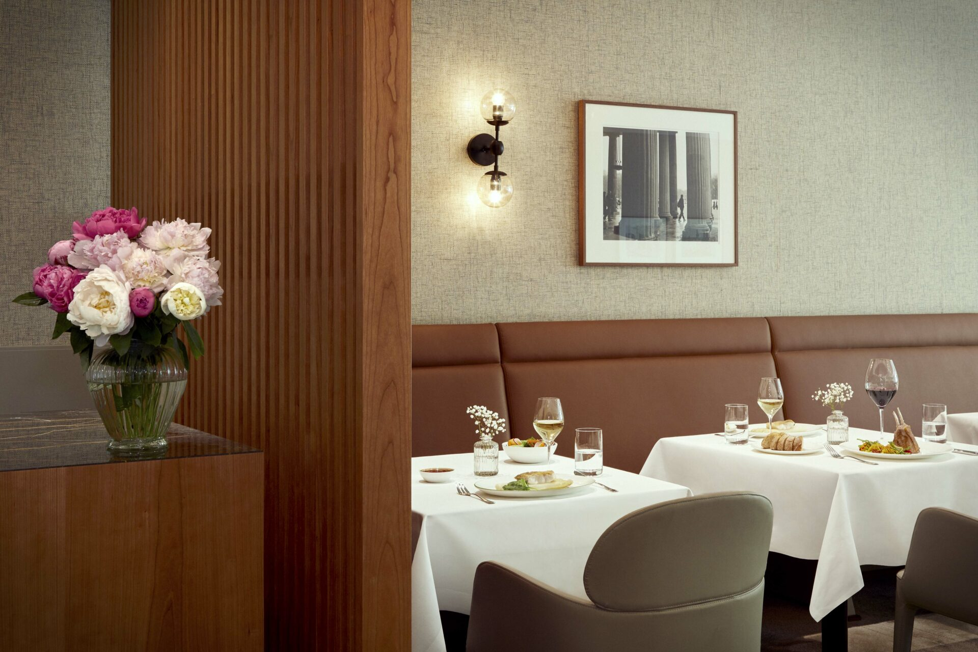 Gehobenes Restaurant im Tertianum Berlin