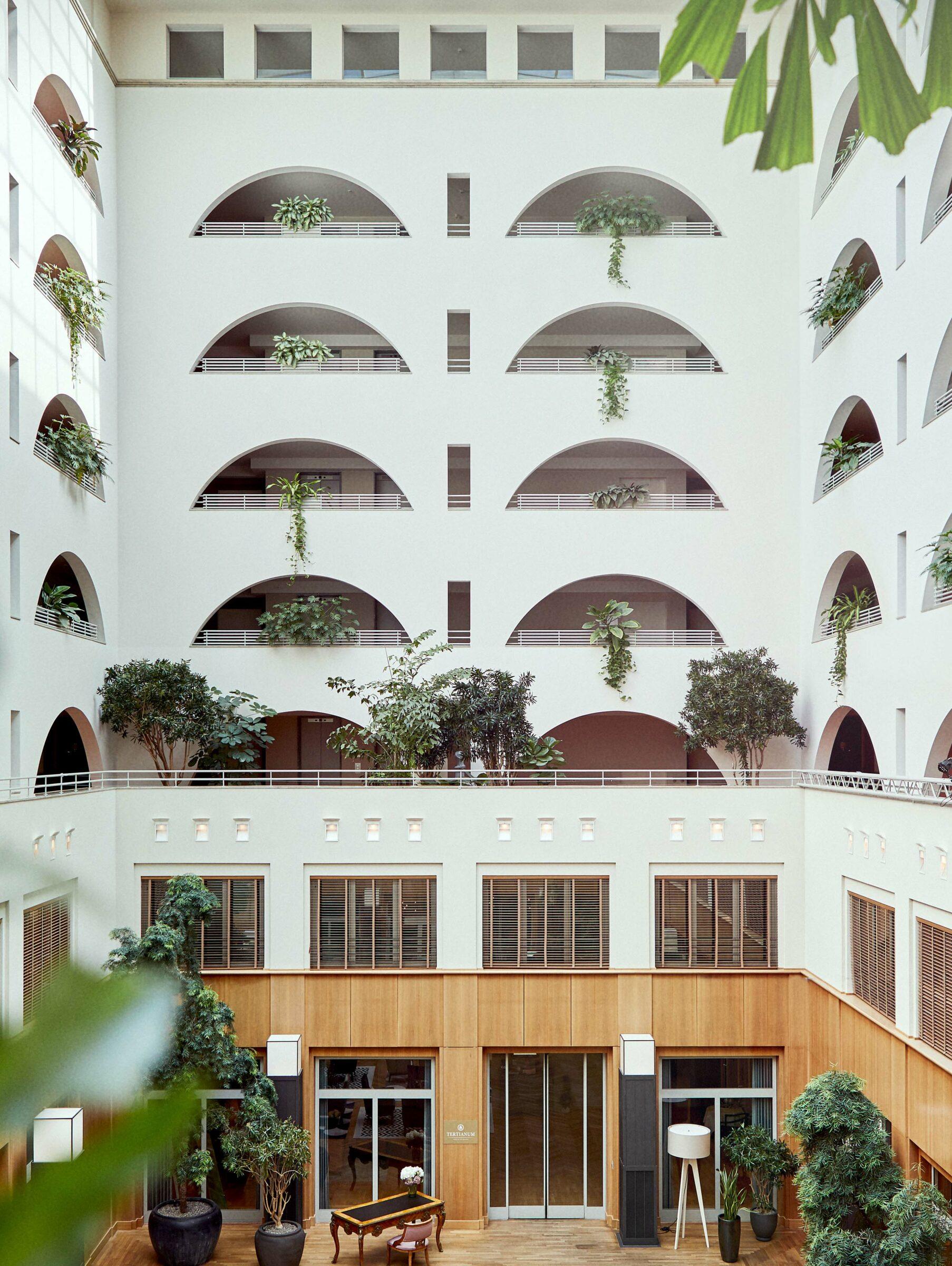 Aufnahme vom Atrium der Tertianum Residenz Berlin
