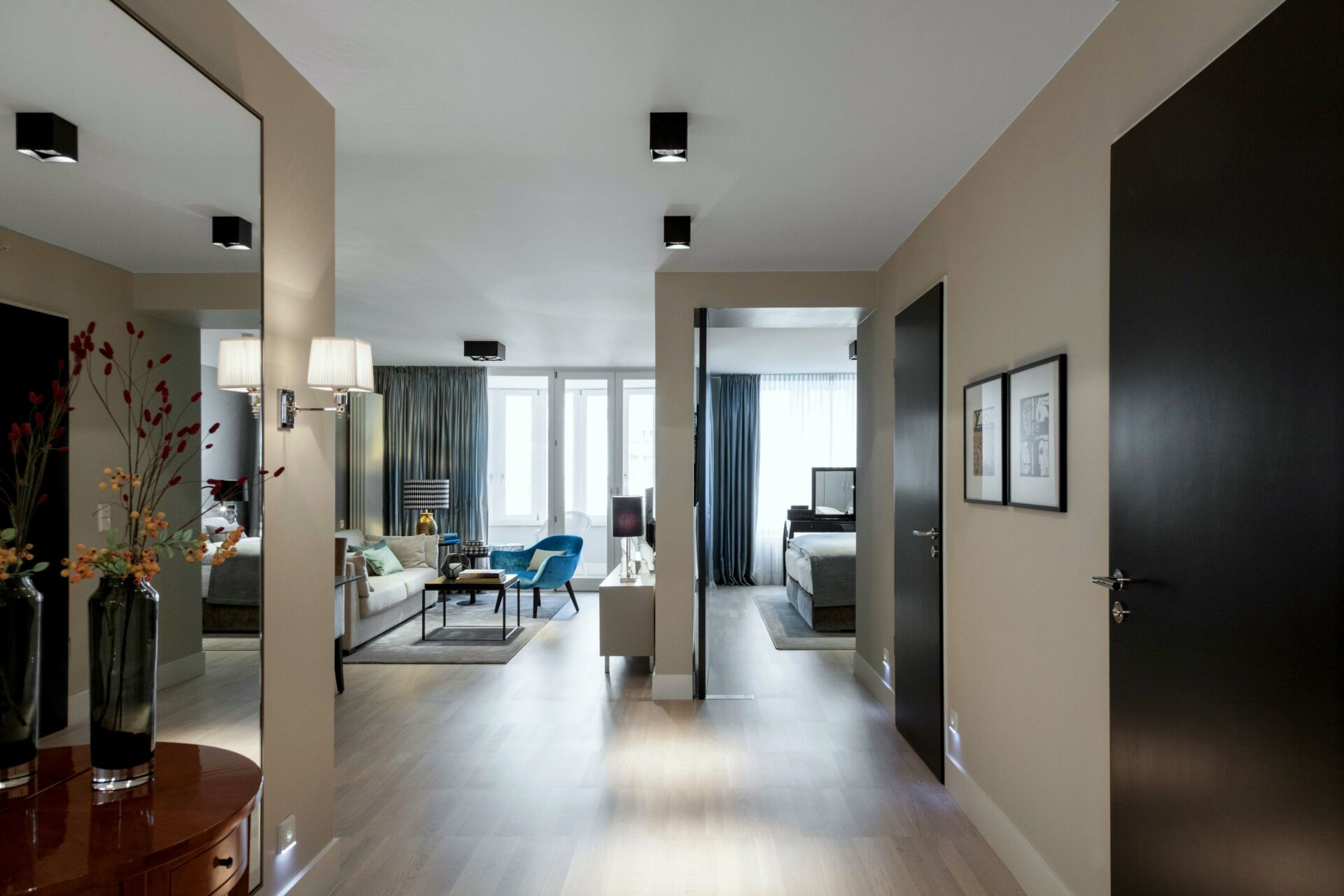 grosser Wohnbereich in der Tertianum Premium Residenz