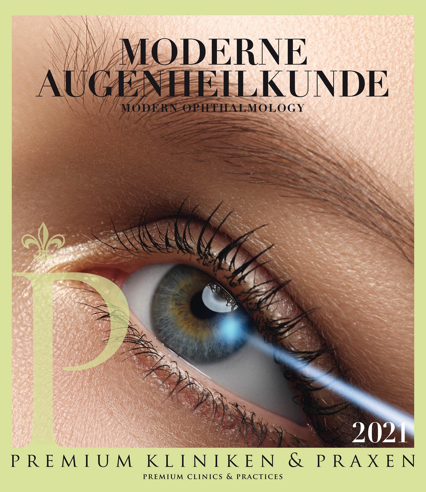 Cover vom Buch Premium Kliniken und Praxen Augenheilkunde