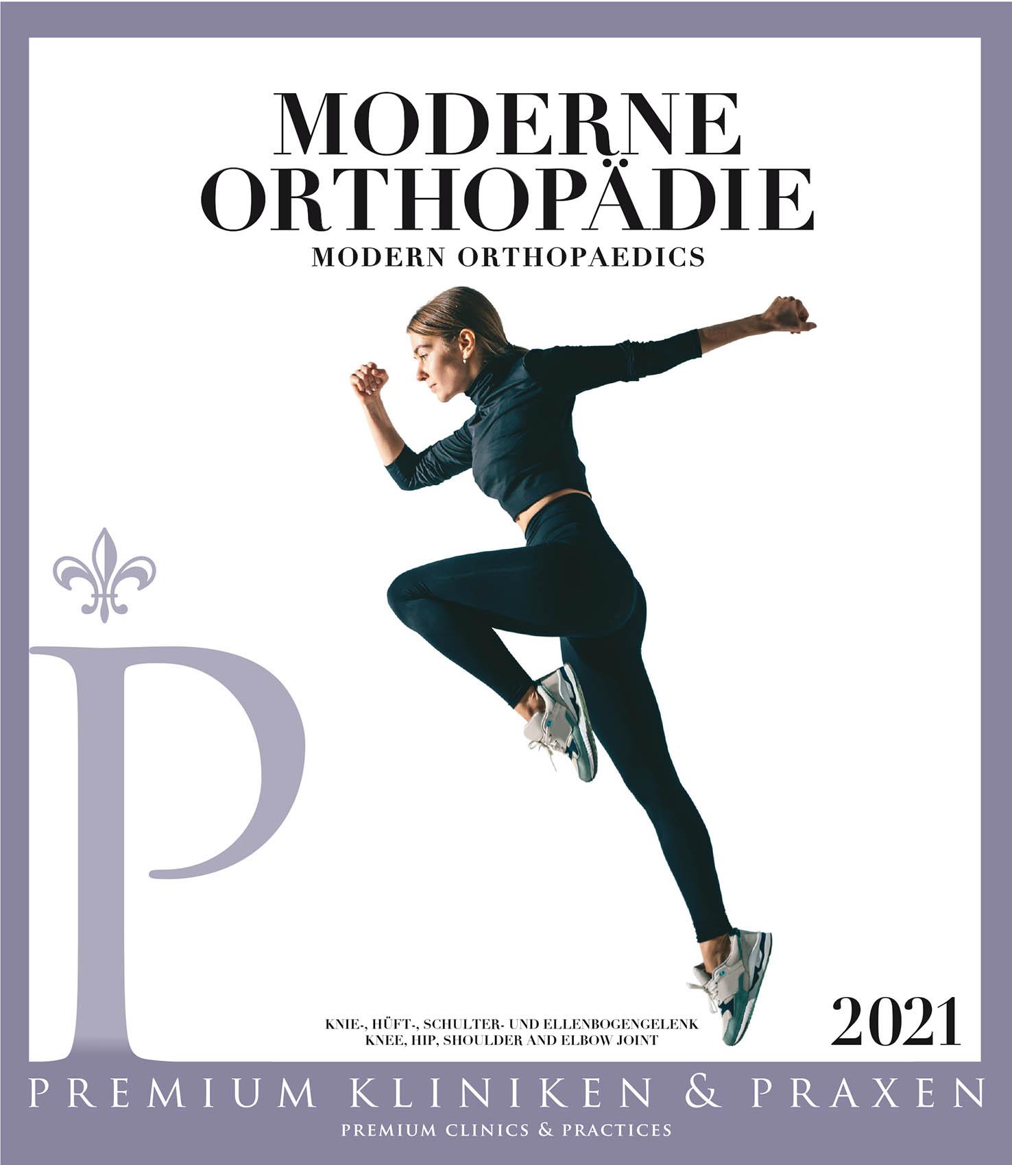 Cover vom Buch Premium Kliniken und Praxen Orthopädie