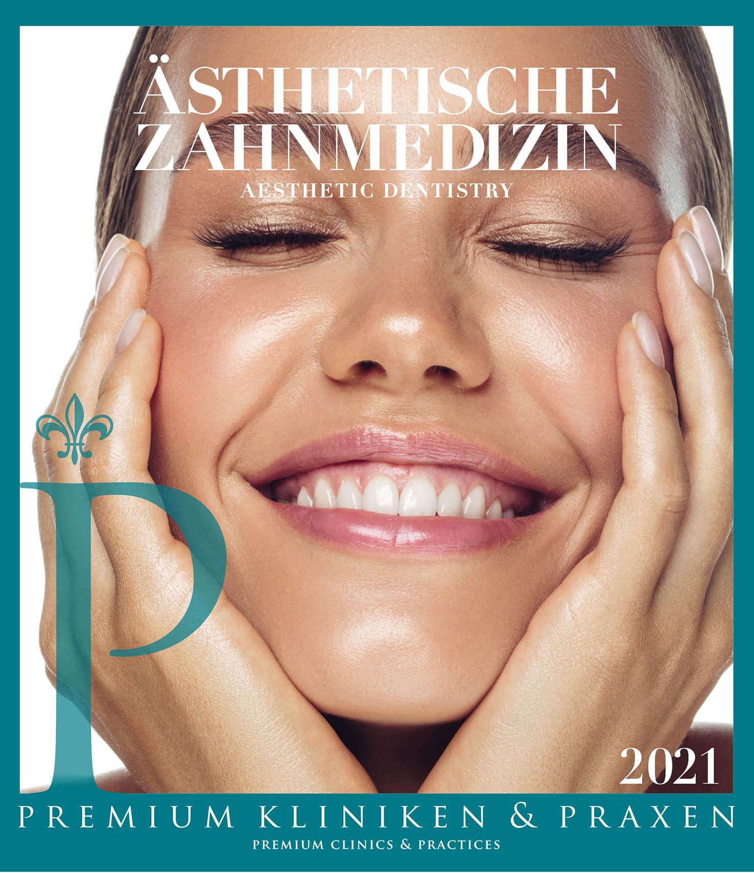 Cover vom Buch Premium Kliniken und Praxen Zahnmedizin