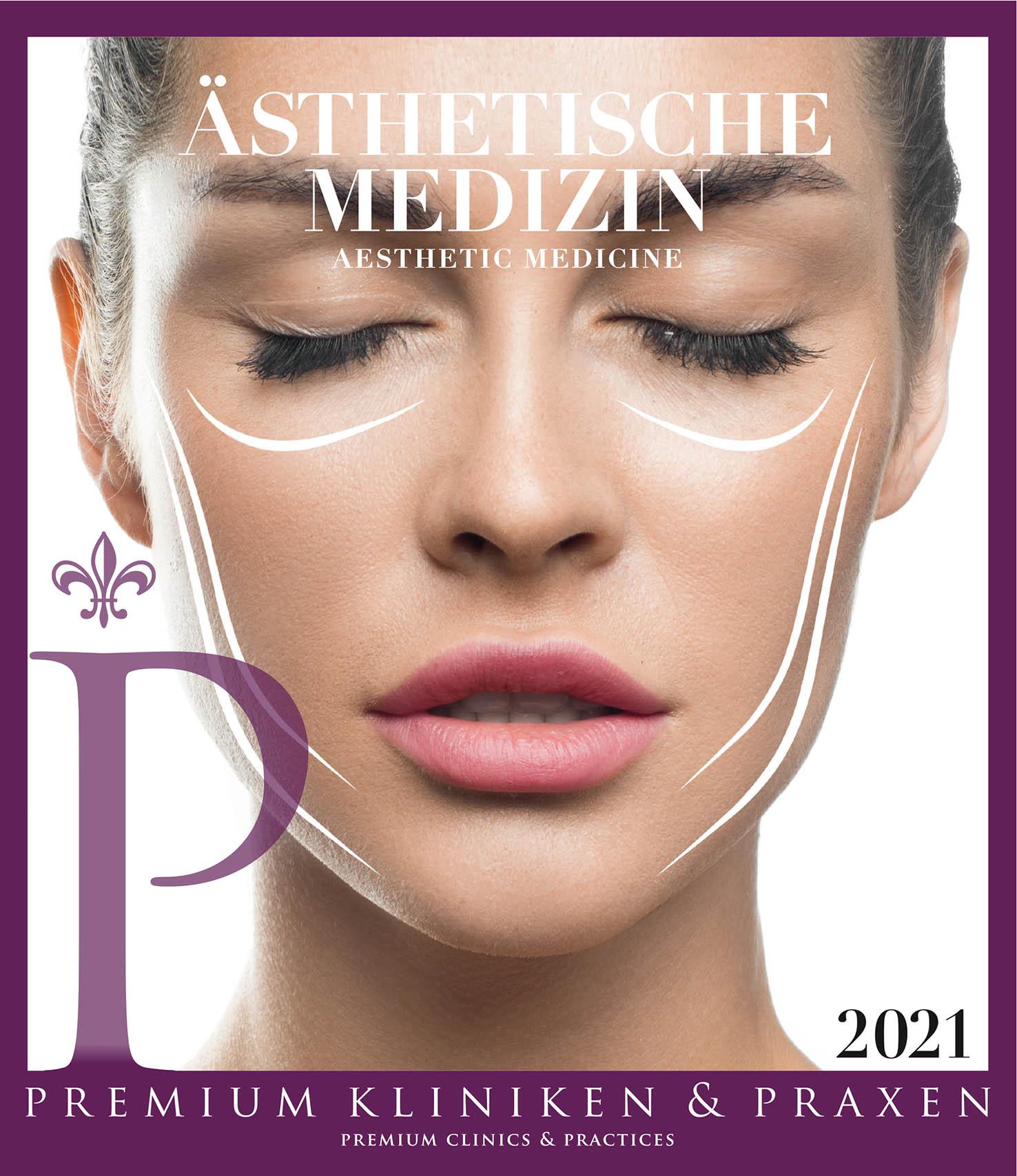 Cover vom Buch Premium Kliniken und Praxen